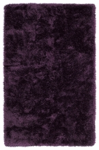 Purple Posh Shag Rug