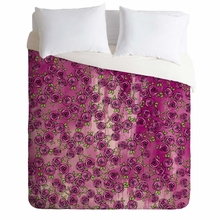 Purple Roses Lightweight Duvet Cover