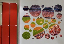 Queen's Shea Stadium Portal Wall Stickers