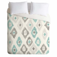 Quiet Ikat Lightweight Duvet Cover