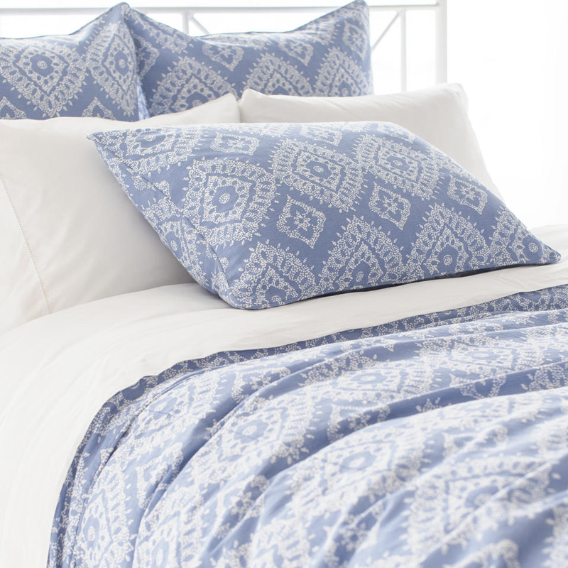 District17: Ramala French Blue Duvet Cover: Duvet Covers ...