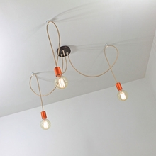 Ray Three Light Pendant Chandelier