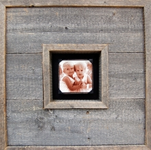 Reclaimed Wood Photobox Picture Frame