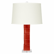Red Braque Lamp Base