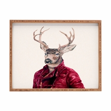 Red Deer Rectangular Tray