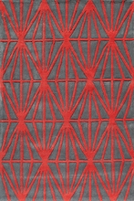 Red Diamonds Bliss Rug