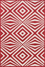Red Diamonds Catalina Rug