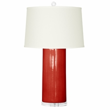 Red Formosa Lamp Base