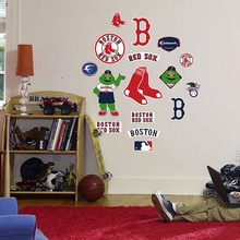 Red Sox Logo Wall Decals