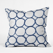 Ringful Throw Pillow