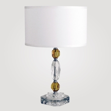 Rio Amber Crystal Table Lamp