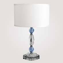 Rio Blue Crystal Table Lamp
