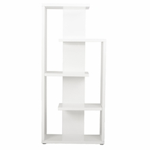 Robbie Shelving Unit in White Lacquer