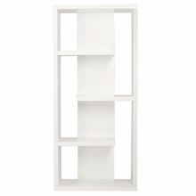 Robyn Shelving Unit in White Lacquer