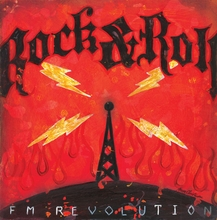 Rock and Roll FM Revolution Canvas Wall Art