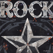 Rock with Star Canvas Wall Art