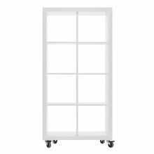 Rolly Mobile Bookcase 2 x 4