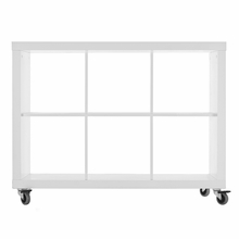 Rolly Mobile Bookcase 3 x 2