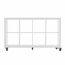 Rolly Mobile Bookcase 4 x 2