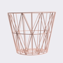 Rose Large Wire Basket