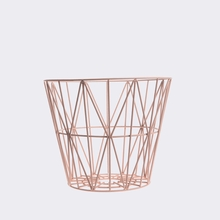 Rose Small Wire Basket