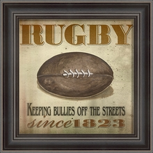 Rugby Since 1823 Framed Wall Art