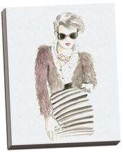 Runway Fashion I Canvas Wall Art