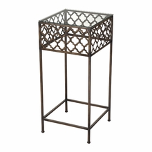 Rustic Moroccan Accent Table
