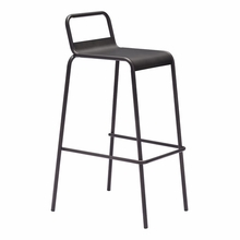 Saccas Barstool Antique Black