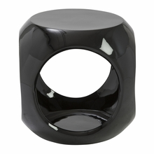 Sacha Stool in Black