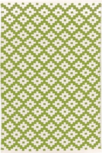 Samode Indoor/Outdoor Rug in Sprout and Ivory