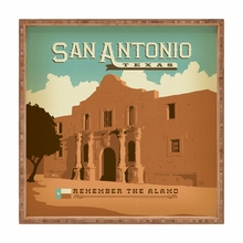San Antonio Square Tray