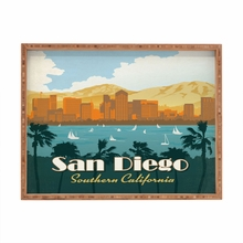 San Diego Rectangular Tray