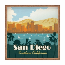 San Diego Square Tray