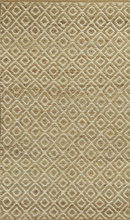Sand Diamonds Flat Weave Rug