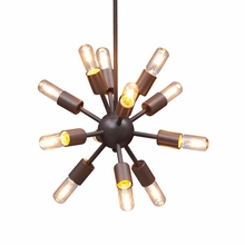Sapphire Ceiling Lamp Small Rust