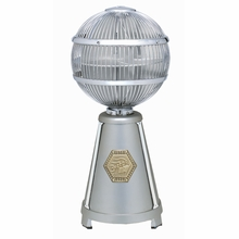 Satin Nickel Fargo Desk Fan