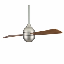 Satin Nickel Involution 2 Blade Ceiling Fan
