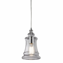 Savannah Bulb Pendant In Polished Chrome