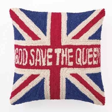 Save the Queen Hook Pillow
