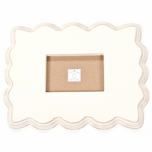 Scalloped Beveled Picture Frame