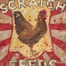 Scratch Feed Canvas Wall Art