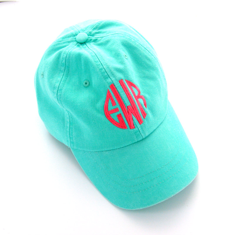 ladies monogrammed baseball caps monogram hat marley lilly cap patch