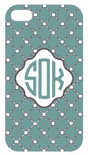Seaside Quilted iPhone Case