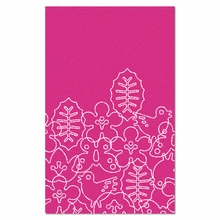 On Sale Seasons Rug in White and Pink - Large