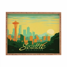 Seattle Rectangular Tray