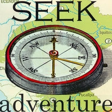 Seek Adventure Canvas Art