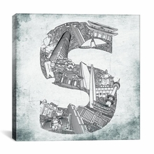 Seoul Canvas Wall Art