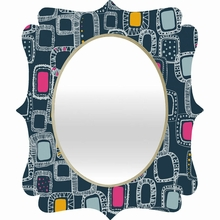 Shapes and Squares 1 Quatrefoil Mirror