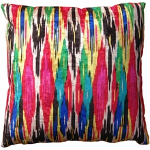 Shocking Multi Throw Pillow